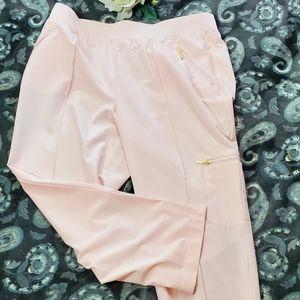 Chico's Zenergy Baby Pink Capris